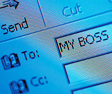 how to end an email to a potential employer