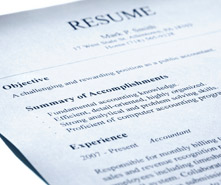 a 20th century resume in the 21st century