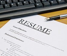 Begin employment history job networking resume search