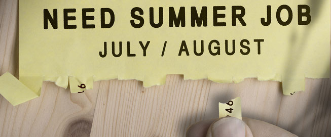 8 great summer jobs
